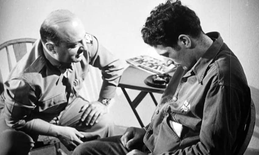 Cena do documentário Que Se Faça Luz (Let There Be Light, original de 1946 e lançado em 1980).