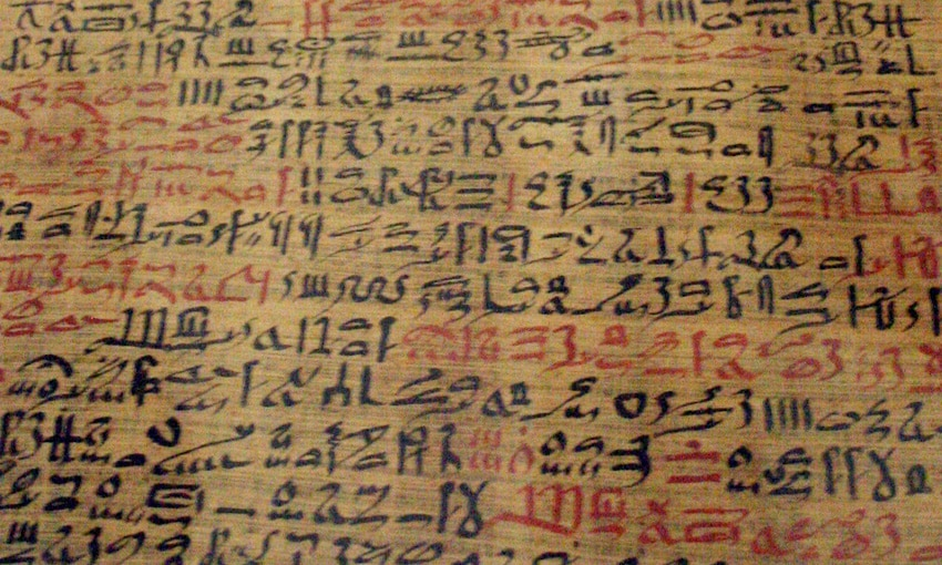 Papiros de Ebers - hipnose
